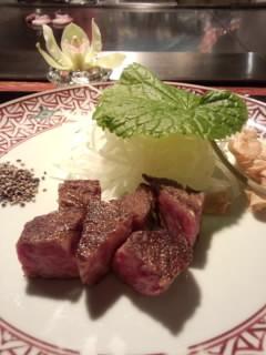 うかい亭 黒毛和牛のステーキ.jpg