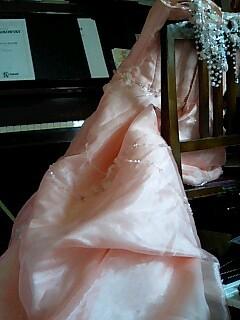 ドレス サーモンピンク.jpg